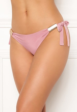 Goddiva Resort Jayde Tie Side Brief Dusty Pink XL