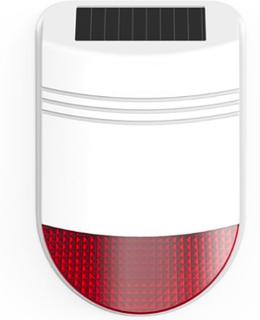 Utendørssirene m/solcelle trådløs til TYTO alarm