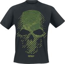 Ghost Recon - Breakpoint - Topo Skull -T-skjorte - svart