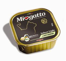 Morando Miogatto Erwachsene Indoor Light Grain Free Monoportion100g