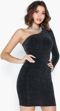 NLY Trend One Shoulder Sparkling Dress