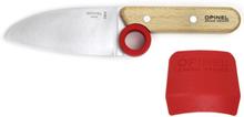 Opinel Le Petit Chef Barnkniv 10cm med fingerskydd