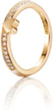 Efva Attling Paramour Love Thin Ring Guld