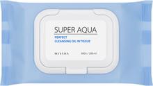 MISSHA Super Aqua Perfect Cleansing Oil In Tissue 30pcs
