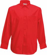 Röd Skjorta FRUIT OF THE LOOM regular fit