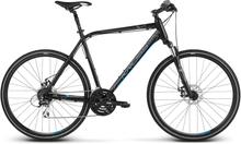 Kross Evado 4.0 Herr Hybridcykel Alu, Shimano 3x8, Skivbroms