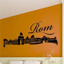 Wallsticker Rom skyline