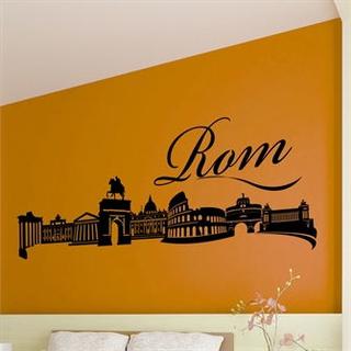 Wallsticker Rom skyline