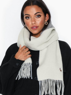 Polo Ralph Lauren Sign Scarf-Oblong Scarf Tørklæder