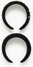 Pieces Pcofia Hairband 2-Pack D2D Håraccessoarer
