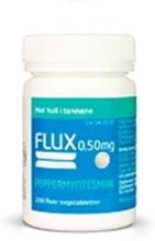 Flux sugetab 0,50mg peppmynte - utsolgt