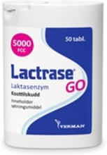 Lactrase go tyggetabletter
