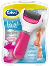 Scholl vel elektr fotfil rosa