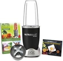 NutriBullet 600W (Sort, 3 dele, Mixer/Blender)