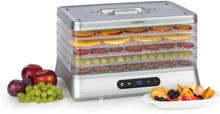 Silver torkautomat 500W LED-display BPA-fri 35-70 °C silver