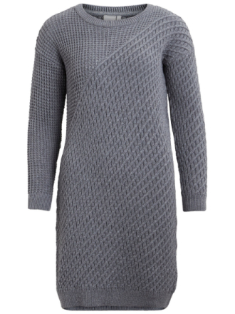 OBJECT COLLECTORS ITEM Knitted Dress Women Grey