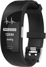 eStore P3 Aktivitetsarmband med PPG och EKG - Svart