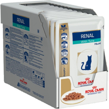 Royal Canin Veterinary Diet Renal Thunfisch Nassfutter fur Katzen 12 Sachets