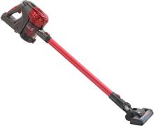 vidaXL 2-i-1-handdammsugare sladdlös multicyklon 120 W röd