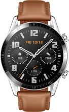 Huawei Watch GT2 Latona-B19s Leather 46mm - Pebble Braun