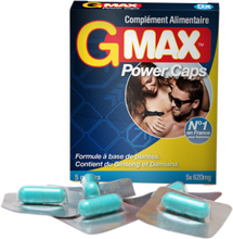 GMAX Power 5 kapslar-Hårdare stånd