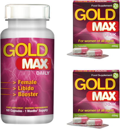 Gold Max Pink Paketrabatt