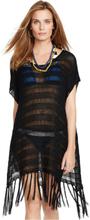 Knitted Strandklänning med sidoknäppning