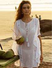 Strandklänning - Vit