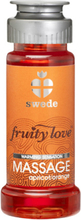 Swede - Fruity Love Värmande Massageolja Apricot Orange 50 ml