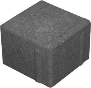 Brosten / Kopsten Sort / koksgrå 10x10x7
