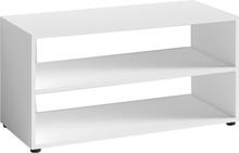 Vancouver hvid Tv bord / Reol 90 Cm