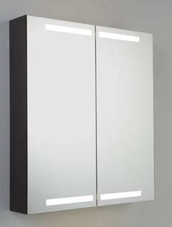 Dansani Luna Spegelskåp belysning i topp och botten