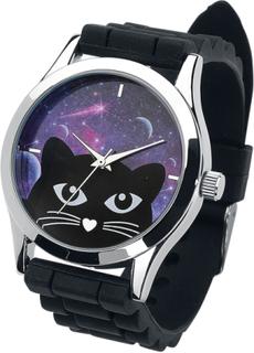 Cat Armbandsur - svart/silver