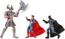 Mattel Justice League Batman, Steppenwolf, Superman 3-Pack Figures