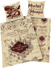 Harry Potter - Marauder's Map -Sengetøy - flerfarget