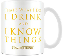 Game Of Thrones - I Drink And I Know Things -Kopp - flerfarget