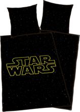 Star Wars - Star Wars Logo -Sengetøy - svart, gul