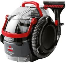 BISSELL SpotClean Pro 1558N - Mattvätt - med behållare - röd/svart