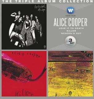 Alice Cooper - The triple album collection -CD - multicolor