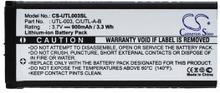 Ersättningsbatteri UTL-003