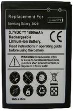 Ersättningsbatteri Galaxy Ace GT-S5830