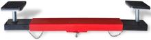 Vidaxl tvärbalksadapter 2 ton röd