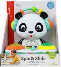 Infantino Musiikkilelu Spin & Slide DJ Panda - monivärinen
