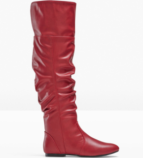 Overknee-støvlett