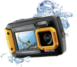 Digitalkamera Easypix W-1400 14 MPix Svart/orange