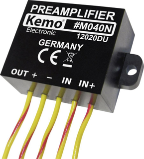Förförstärkare Kemo M040N Komponent 9 - 24 V/DC