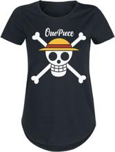 One Piece - Logo -T-skjorte - svart