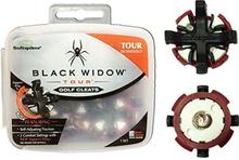 Softspikes Black Widow Tour Kit-Q-Fit, 18 pack