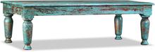 vidaXL Soffbord i massivt återvunnet trä 110x60x34 cm