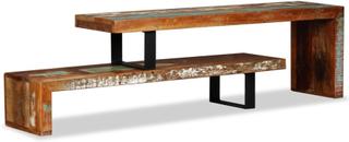 vidaXL TV-bänk återvunnet massivt trä